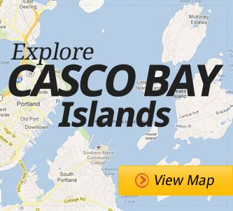 Explore Casco Bay Islands ~ Maine Island Ferry Service for Casco Bay Leaving from Portland