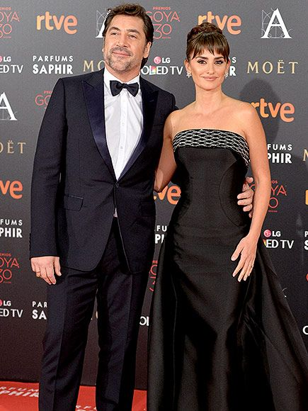 Gorgeous Couple Penélope Cruz and Javier Bardem Have a Black-tie Date Night at Goya Cinema Awards| U2, Zoolander, Movie News, Bono, Javier Bardem, Penelope Cruz