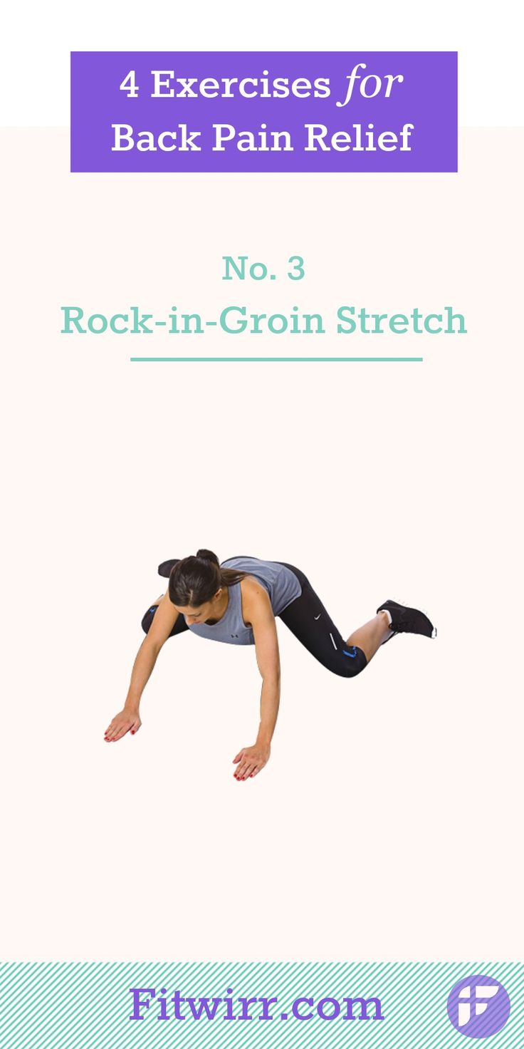 Most people with bad lower back often have tight hips. This is probably due to a lot of sitting at work. One particular exercise that can help with loosening the tight hips is the Rock-in-Groin Stretch. Perform this hip stretch exercise 2-3 times, and hold the position each time for 20-30 seconds. Learn what other simple stretches that can relieve your back pain. #backpain #backstretch