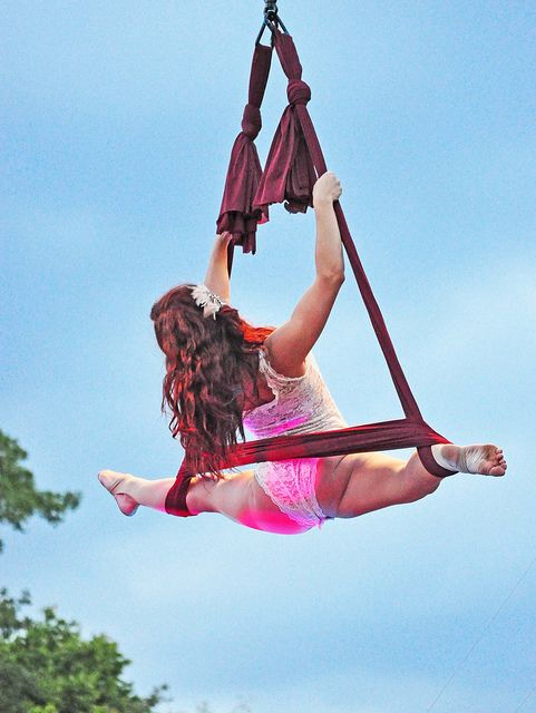 New moves to break down on hammock...