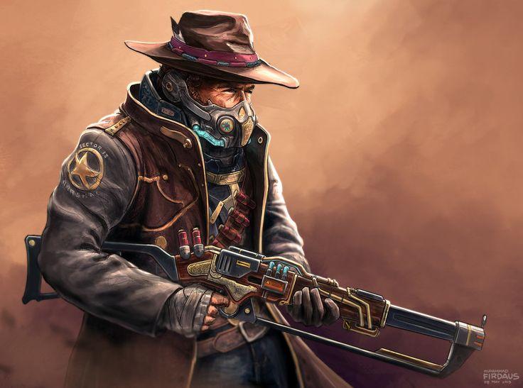 Return of the Space Cowboy by freakyfir
