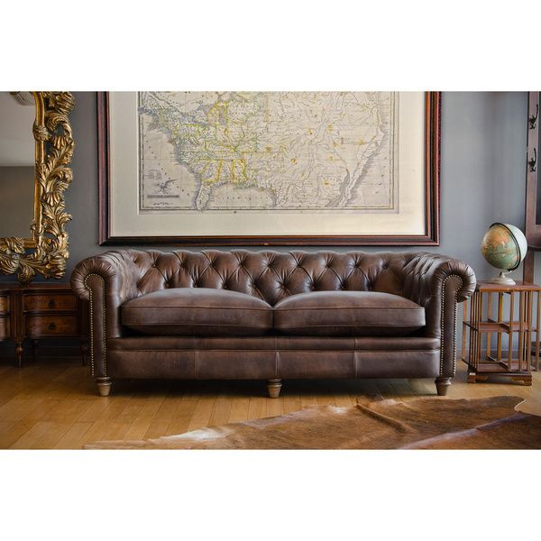 abraham leather junior grand sofa shopping the best deals on sofas