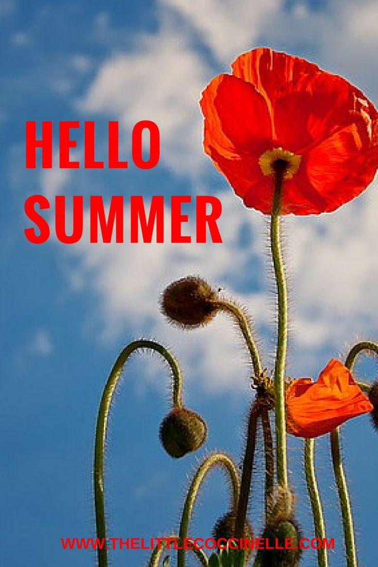 Bienvenido verano / Hello summer