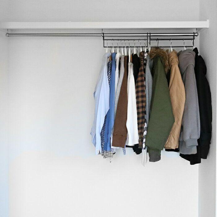 楽天市場 ハンガー 衣類収納アップハンガー 2本組 収納 衣類