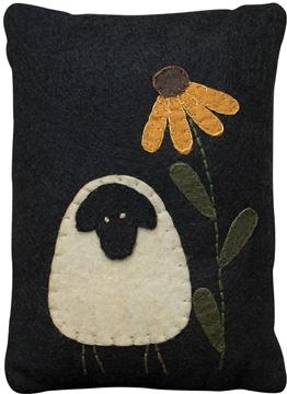 Sheep and sunflower