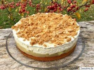 Apfel-Tiramisu-Torte – Aus meinem Kuchen und Tortenblog