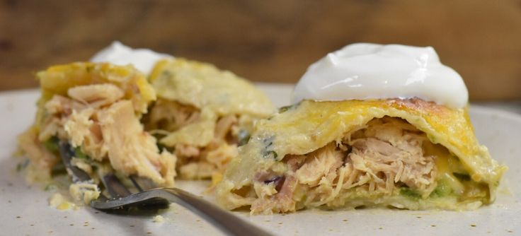 Chicken and Avocado Enchiladas - the Homestead at Bridle Creek