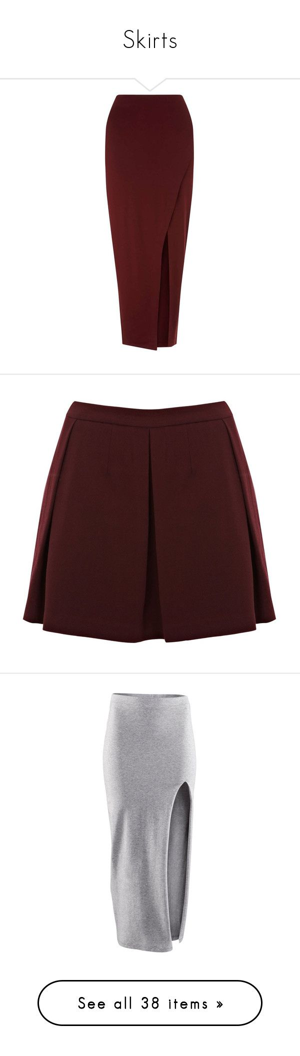 """""""Skirts"""" by marifernandes1 ❤ liked on Polyvore featuring skirts, bottoms, assorted, jersey maxi skirt, long red maxi skirt, wrap maxi skirt, red jersey, wrap skirt, saias and women"""