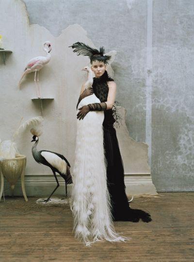"""Jennifer Lawrence in """"Gen W"""" by Tim Walker for W Magazine October 2012."""