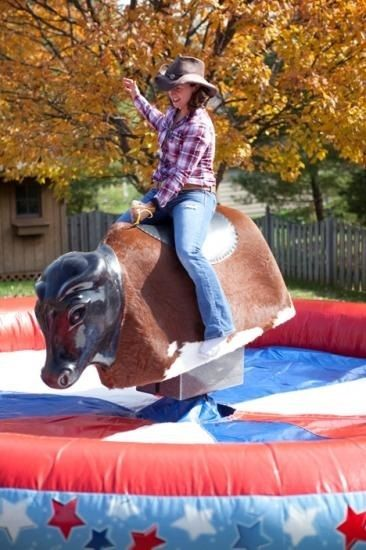 Number one product for a Wild West Party is a Rodeo Bull! No party can start without one. Great fun for most ages and a great laugh for all.