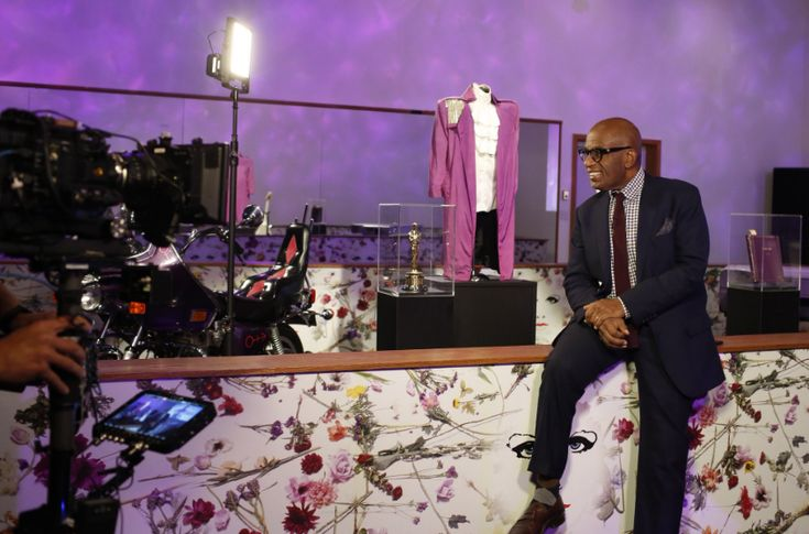 Al Roker tours Paisley Park: 'Forecast: 100% purple rain, baby!' | Local Current Blog | The Current from Minnesota Public Radio