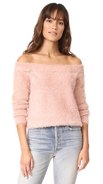 MINKPINK Florentine Off Shoulder Sweater. #minkpink #cloth #dress #top #shirt #sweater #skirt #beachwear #activewear