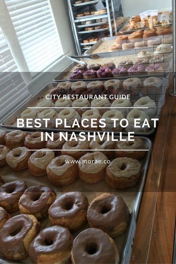 Nashville restaurant guide to the best places to eat in Nashville, Tennessee.