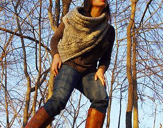 Katniss Huntress Cowl Knitting Pattern | Knitting patterns inspired by The Hunger Games books and movies http://intheloopknitting.com/hunger-games-knitting-patterns/