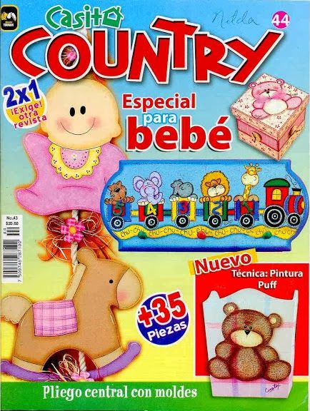 Revista Country especial para bebé