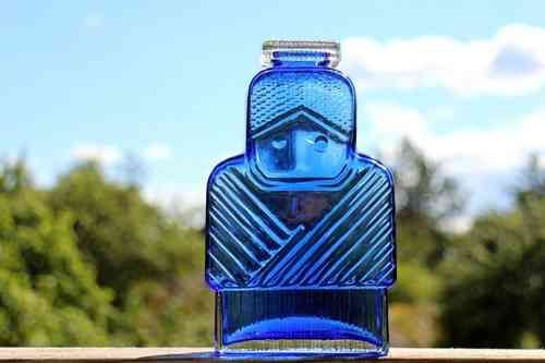 ISOÄITI art glass bottle by Helena Tynell - FourSeasons.fi