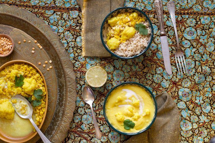 Curry modulable aux triples richesses dorées / Le Chaudron Pastel