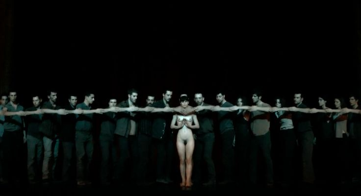 #NOWHERE by #DimitrisPapaioannou #choreography dedicated to the memory of #PinaBausch