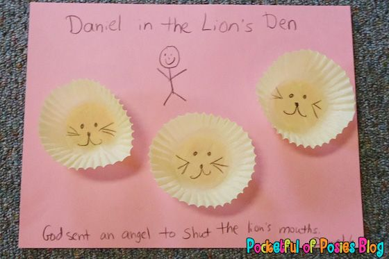 Sunday School Crafts: Daniel in the Lion�s Den