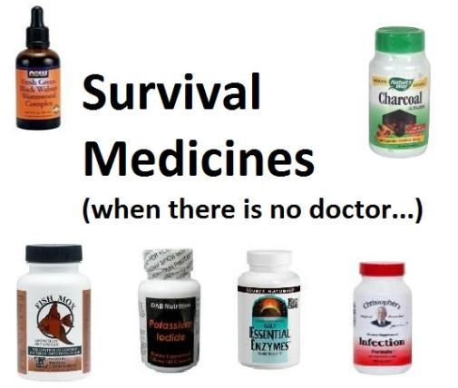 Discover FishMox, activated charcoal,  fresh green black walnut wormwood complex and more for your prepper's medicine cabinet. http://www.happypreppers.com/medicine-cabinet.html