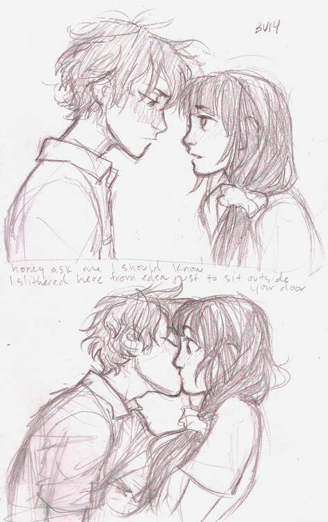 """""""I don't understand why do you care so much about me?"""" I asked him. He had done so much to protect me. He had been there for me. But why? """"Because...I just...I just care about you okay."""" I was confused for a minute. """"But why me? I'm just some stupid useless person."""" """"Hey don't say that. People care about you."""" He said. """" Like who?"""" Before I knew it his lips were on mine. I was completely surprised."""