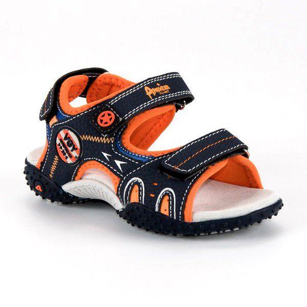 Sandalki Dzieciece Dla Dzieci Americanclub Niebieskie Wygodne Sandaly American American Club Sandalias Hombre Sandalias Hombres