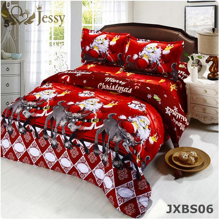 3D Bedding Sets Merry Christmas Santa Claus