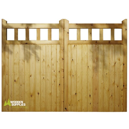 Wooden farm gates prices woodworking projects plans for Wood driveway gate plans