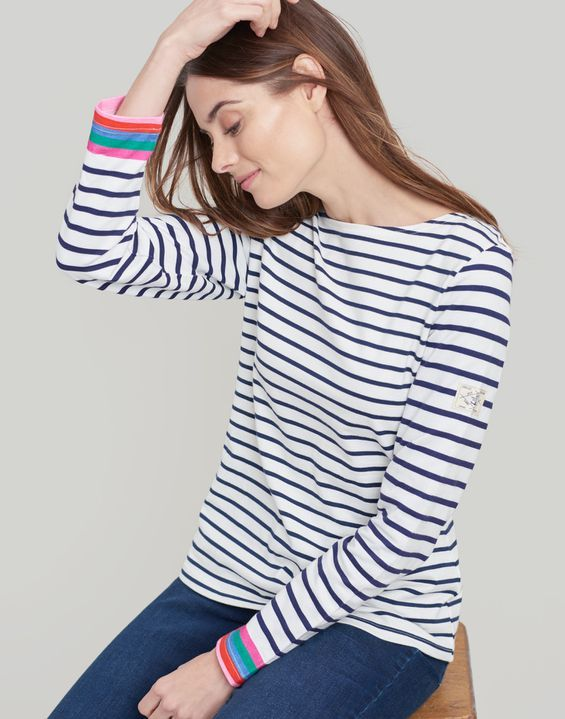 c8cf04ab0 Harbour Jersey Top in 2019   To buy?   Tops, Striped jersey, Joules uk