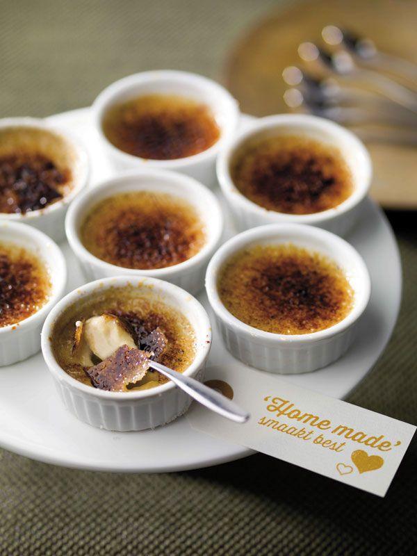 Crème brûlée van ganzenlever