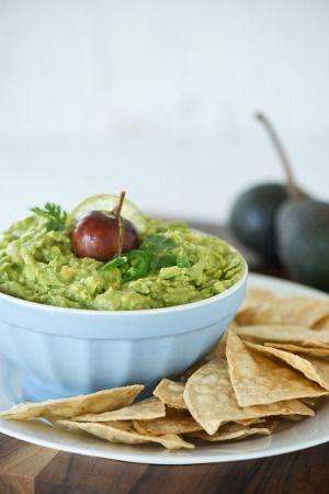 Guacamole.... Recipe from Cristina Ferrare