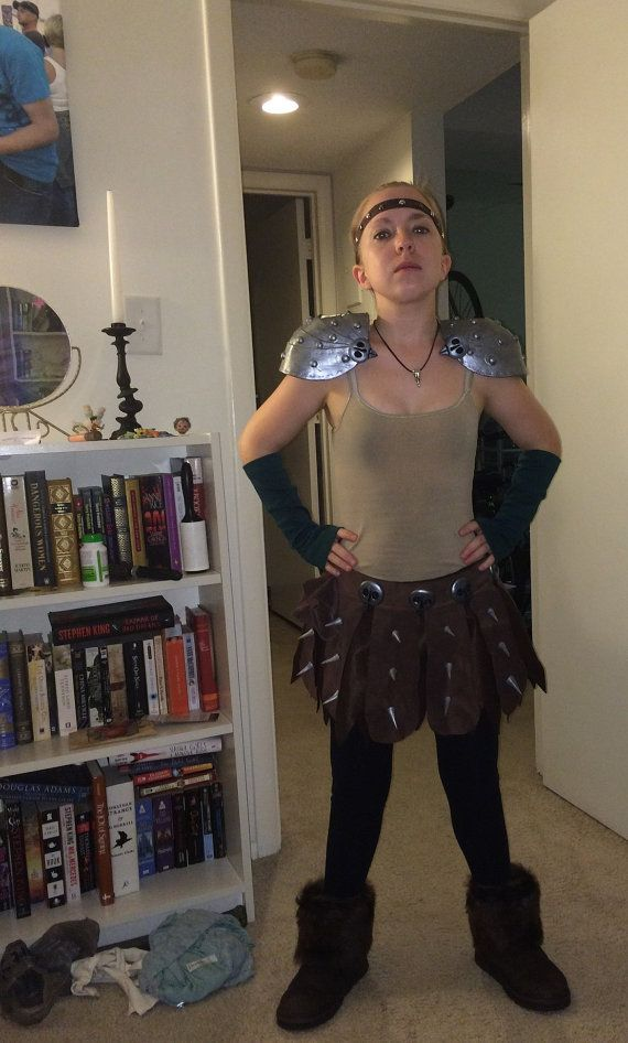 Customized Astrid Costume / HTTYD Viking Outfit by NefertariCrafts