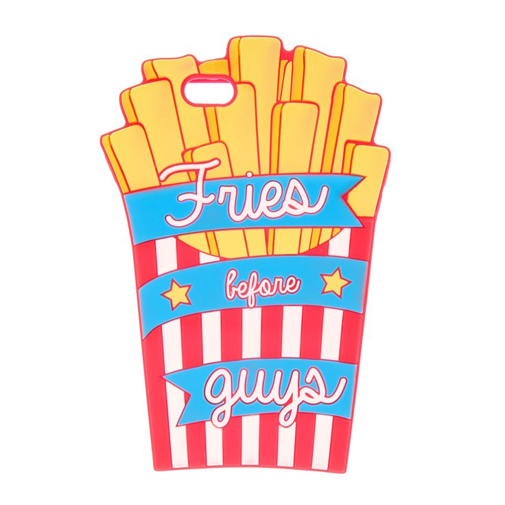 Fries Before Guys 3D Silicone Phone Case – iPhone 6/6S