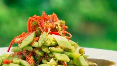Hot and Sour Cucumber Salad from Kylie Kwong