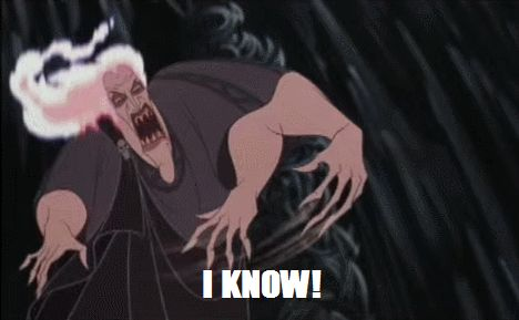 """Because you're a go-getter. 