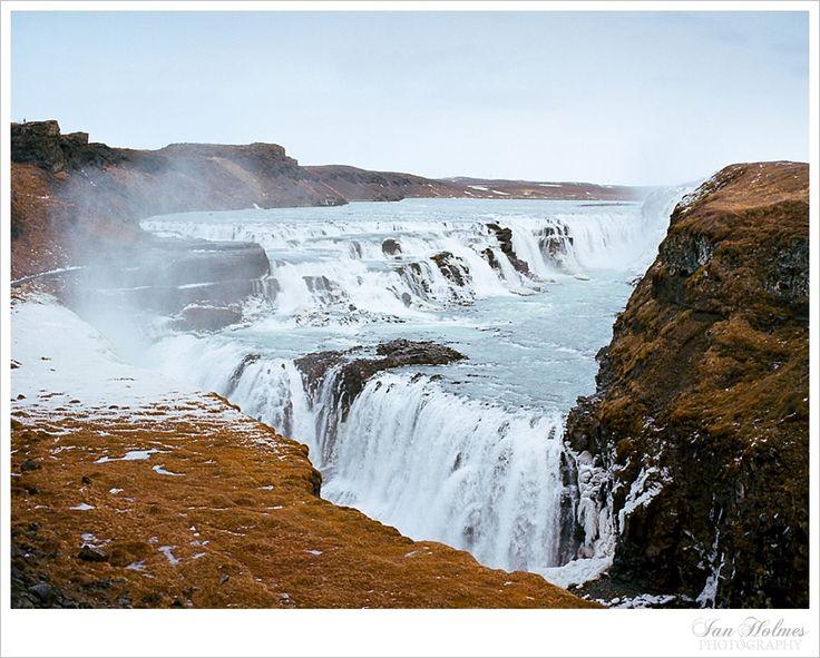 Waterfall. Iceland.
