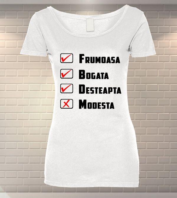Tricou Dama Personalizat   Tricou din Bumbac   MeraPrint.ro   Va punem la dispozitie o gama variata de produse personalizate la cele mai mici preturi!