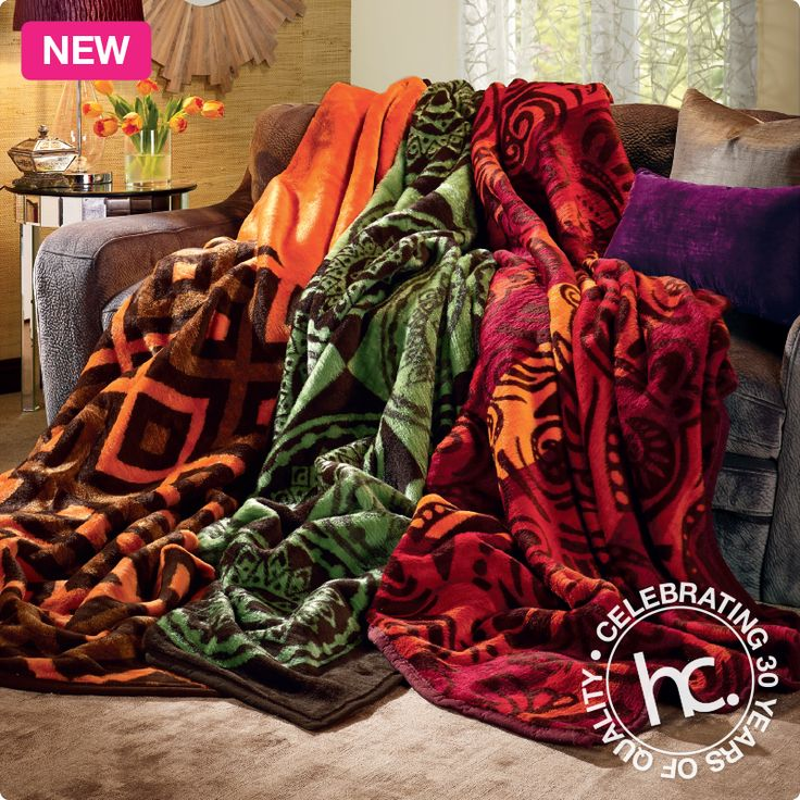 Buy 2 Kirabo blankets, and get a 3rd FREE! From R1399 cash or only R137 p/m! Shop now >> http://www.homechoice.co.za/blankets/Kirabo-blanket-set.aspx