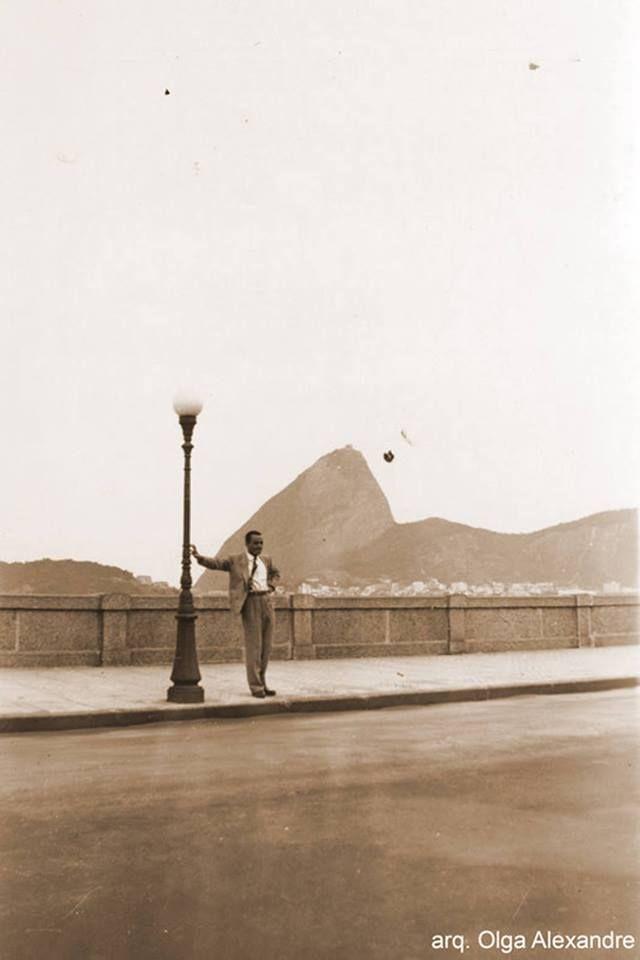 rio de janeiro  Av Beira Mar  Praia do Flamengo  Sem data