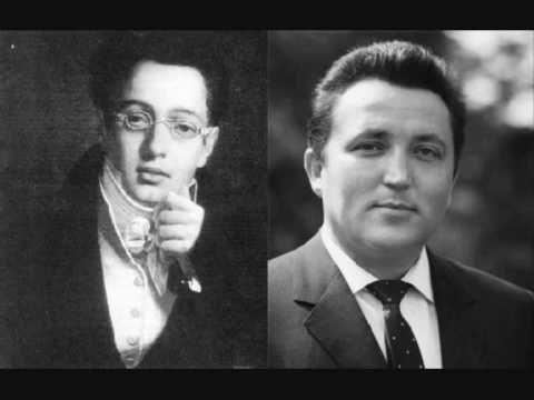 Fritz Wunderlich. Die schöne Müllerin. F. Schubert. 1-4 - YouTube
