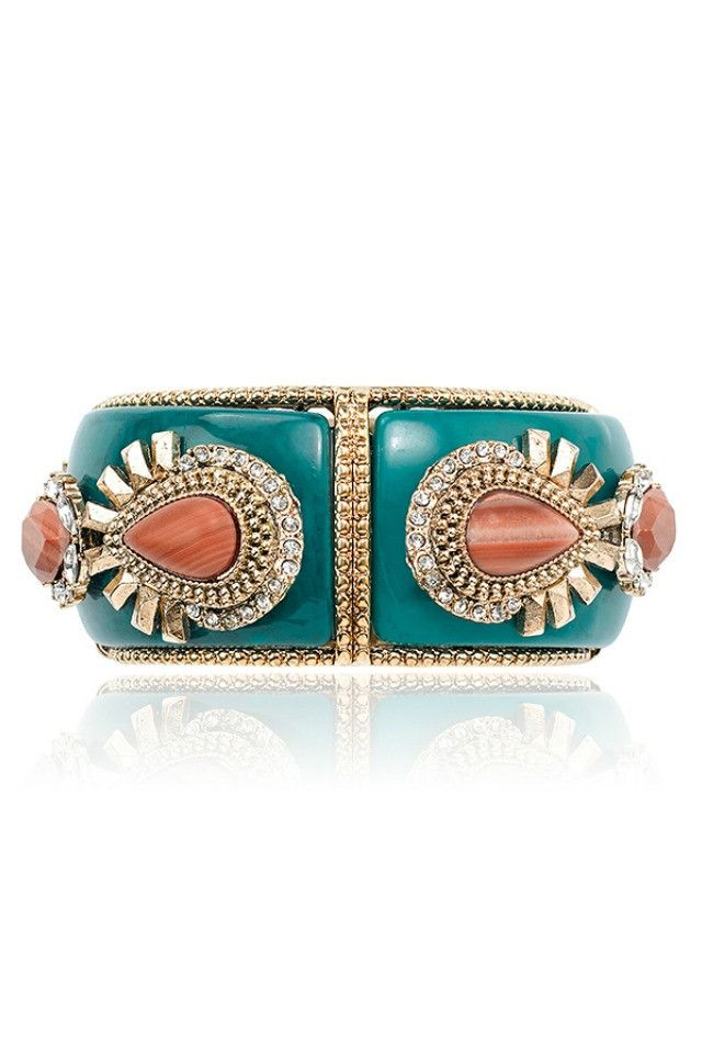 Samantha Wills Dance With Me Cuff - Turquoise AUD$160.00 available at www.carouselbondi...