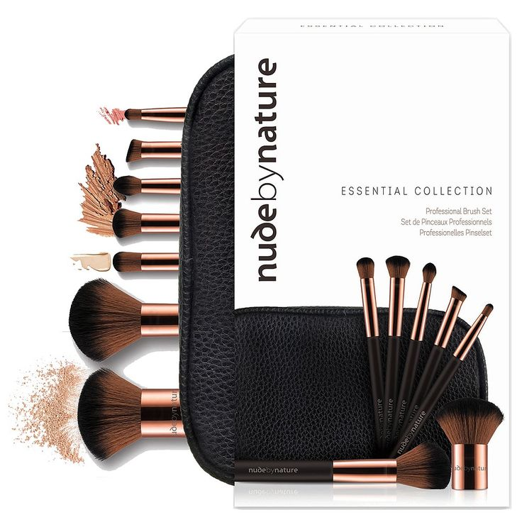 Nude By Nature Essential Collection Brush Set 1 Kit