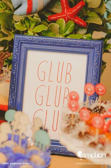 Ocean/Under the Sea Birthday Party Ideas | Photo 11 of 46 | Catch My Party