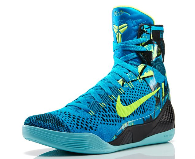 """Nike Kobe 9 Elite """"Perspective"""" If any of his predecessor models were of the hi-top variety who knows if he would've blown out his Achilles?"""