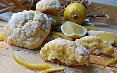biscotti al limone con le buce