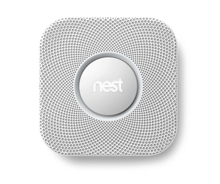 The prettiest smoke alarm you ever did see... with carbon monoxide detection, mobile capability & no more waving a dishcloth at it after you burn something.