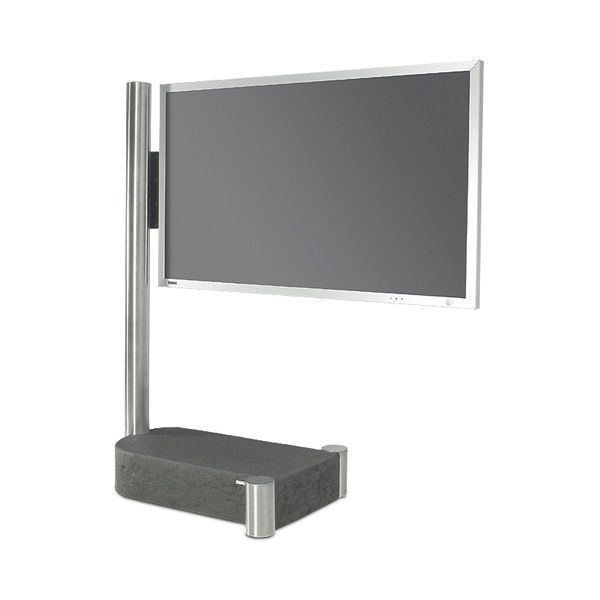 Soporte para TV de pie moderno / con ruedas - FERNSEHSTÄNDER ART110 - wissmann raumobjekte