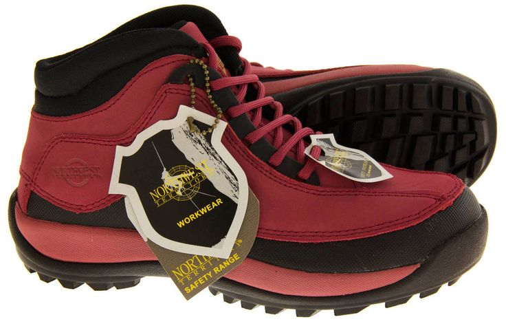 Womens New Northwest Territory Sovereign Steel Toe Cap Work Leather Boots UK 4-8