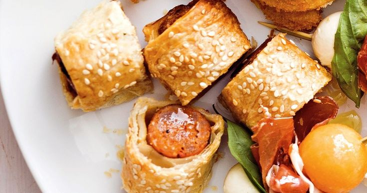 For an even tastier way to serve chorizo, wrap them in pastry and serve as finger food.