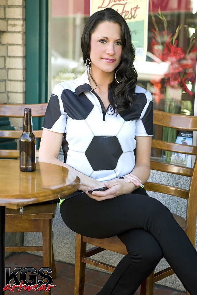 Women's Soccer Shirt from KGS Artwear ...Men's also available at store.kgsartwear.com #soccer #sports #apparel #gifts